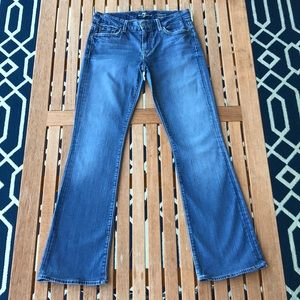 7FAM Kimmie Bootcut Jeans, Size 28